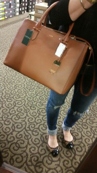 82b3b23b3d6 RLL (Ralph Lauren Stachel $200 @DSW) | I Want | Bags, Ralph lauren ...