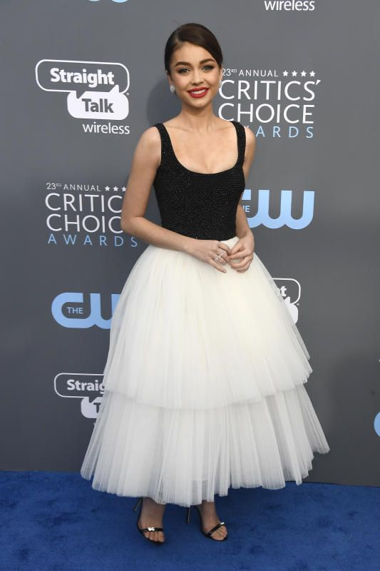 Sarah Hyland Critics Choice Awards - 2018 Critics' Choice Awards Red Carpet: See all the stars  | Gallery | Wonderwall.com