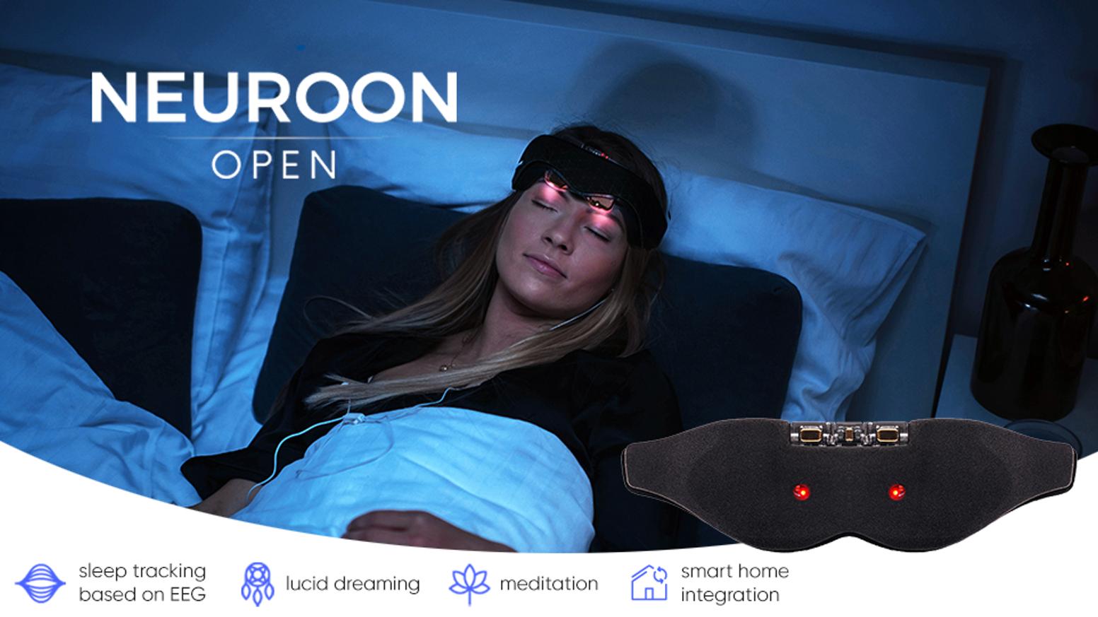 OPEN SOURCE mask for realtime advanced sleep measurement