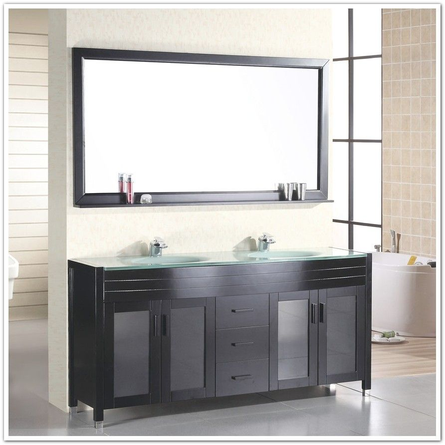 How To Install A Double Sink Bathroom Vanity