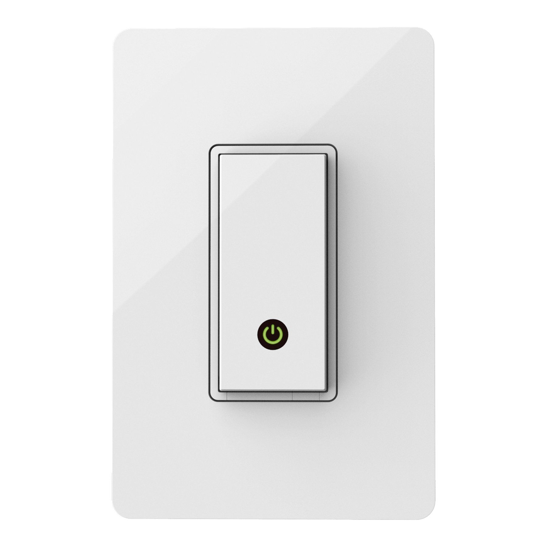 Belkin Wemo Light Switch Control Your Lights From Anywhere With The Home Automation App For Smartphones And Tablets Light Switch Wireless Lights Belkin Wemo