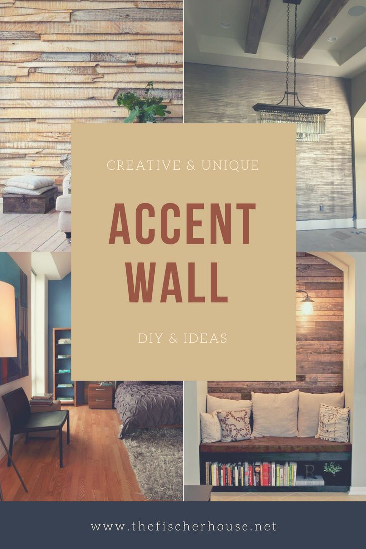 30 Inspiring Accent Wall Ideas To Change An Area | Pinterest | Wall ...