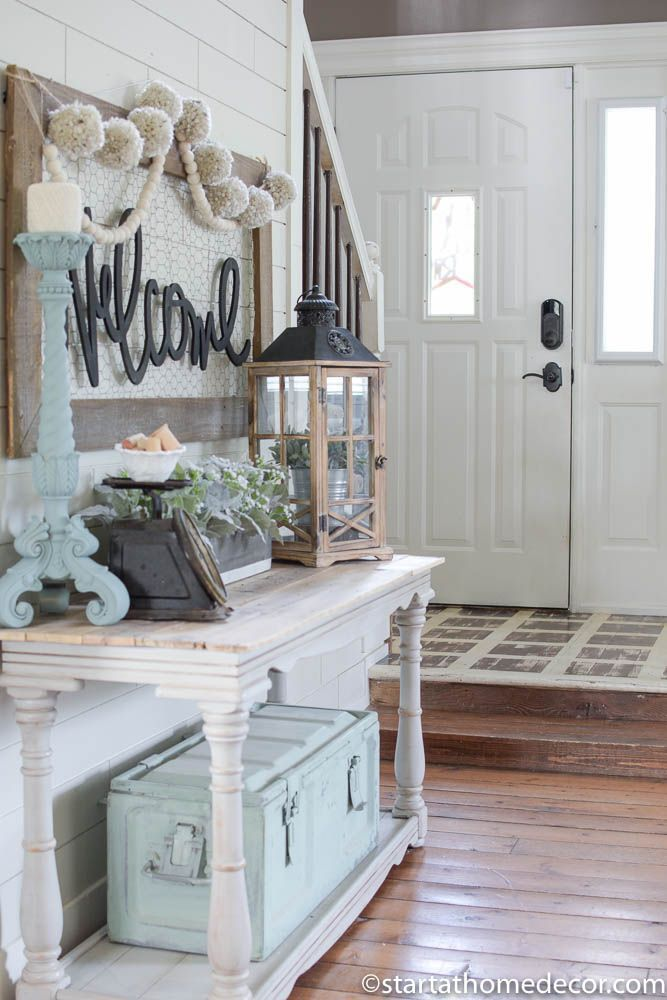 Foyer Decorating Ideas On A Budget : Entryway on a budget start at home girl can dream