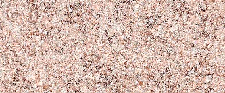 Anatolia Is A Distinctive Tea Rose Marble Quartz Countertop Design