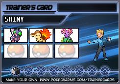 Trainer Card Maker Pokécharms In 2020 Card Maker Cards Pokemon Trainer