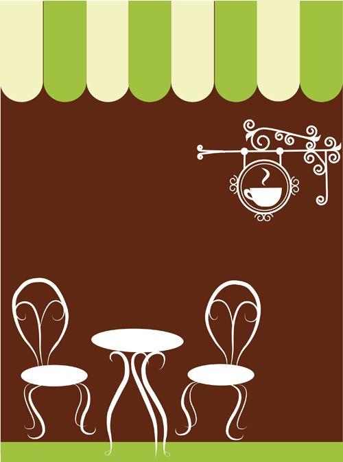 Vector Of Vintage Cafe Menu Background Art 02 Vector Background Free Download Cafe Menu Free Art Vintage Cafe
