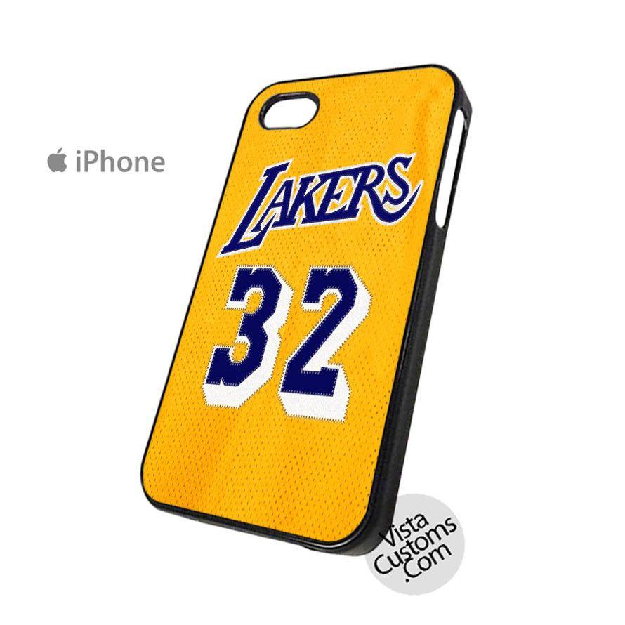NBA Los Angeles Lakers Magic Johnson Phone Case For Apple