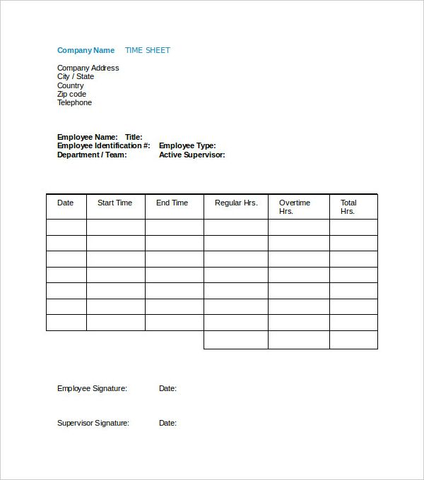 Employee Payroll Time Sheet Template Download (600×  Payroll Receipt
