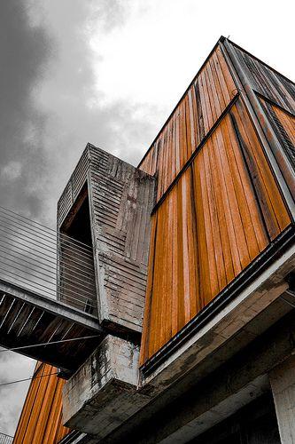 Carlo Scarpa the Museo Revoltella in Trieste, Italy photo by Emilio Antonio