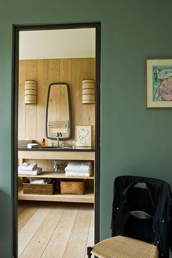 Gilles Trillard  Maison du Perche, architecture et decoration - faire un sauna maison