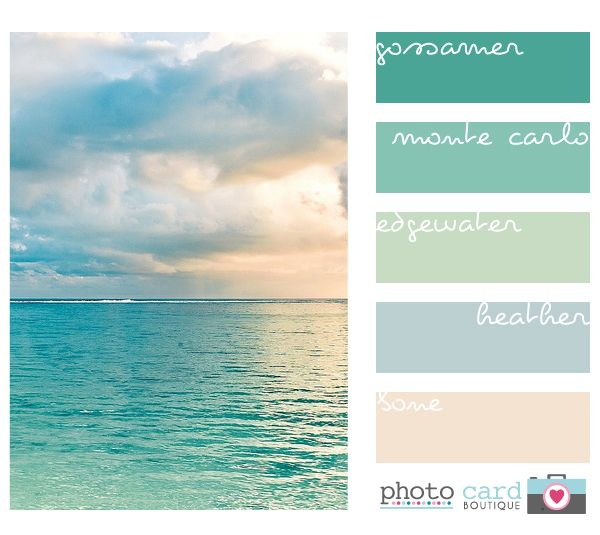 ah, colors of the beach