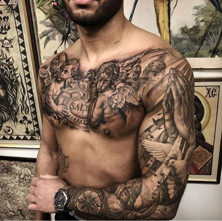 Pin On Popular Sleeve Tattoos