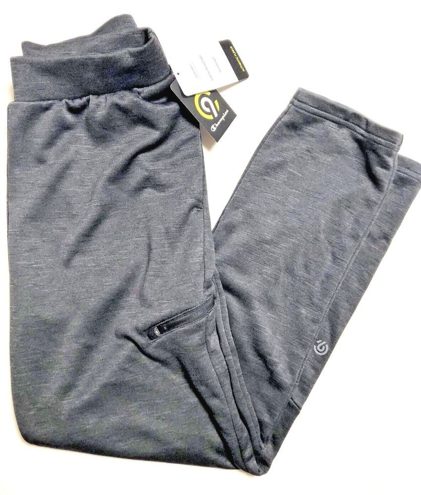 d40e77b3f023 NWT Boys Champion C9 DuoDry Gray Fleece Pants Open Leg Sweat Athletic Pants   c9bychampion  AthleticSweatPants  EverydayWorking
