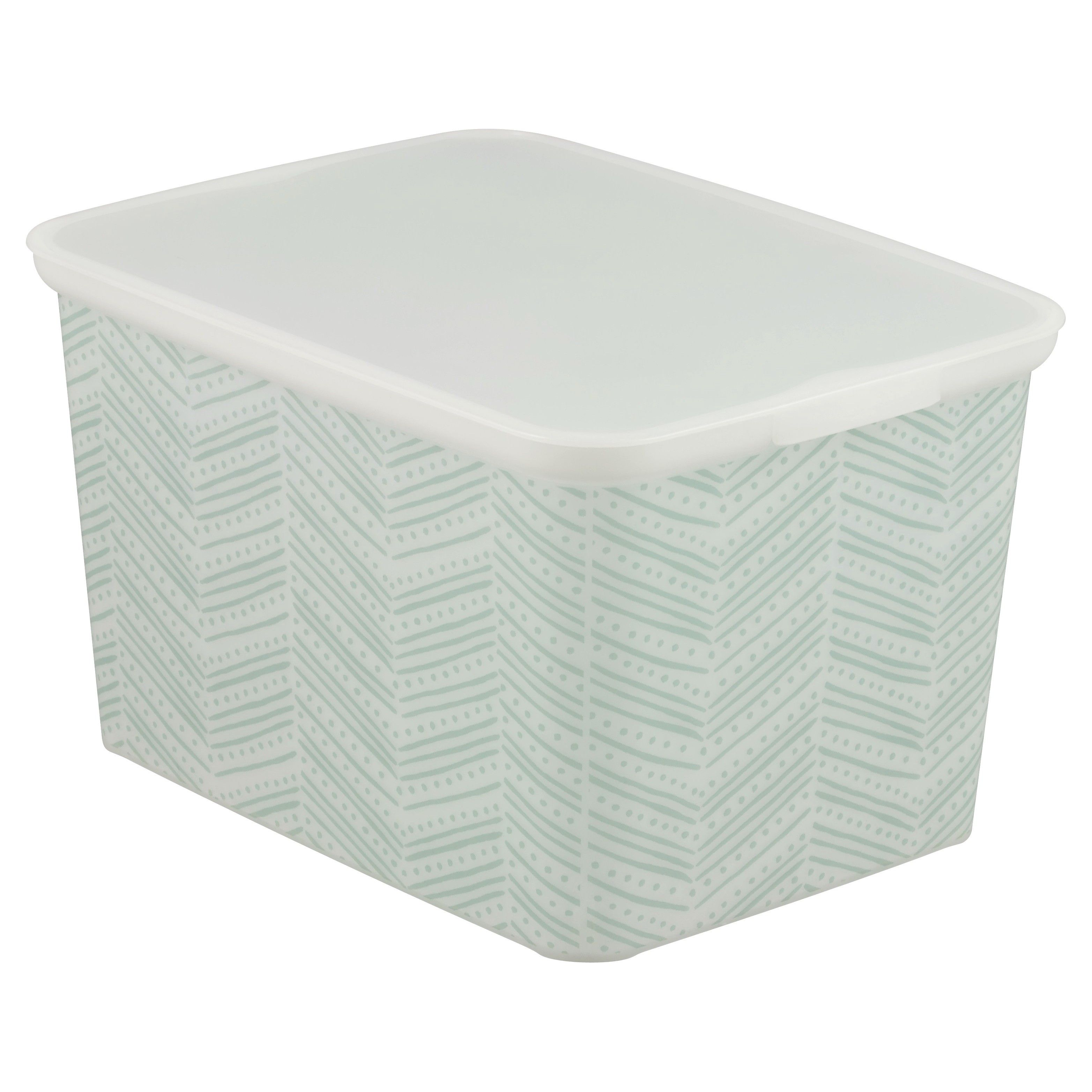 pl at shop containers storage snap lowes tote tubs lid organization tub selections gray gallon com with standard style target baskets
