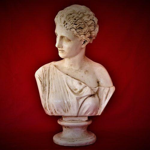 Esculturas – Busto de Mujer Código BU 010