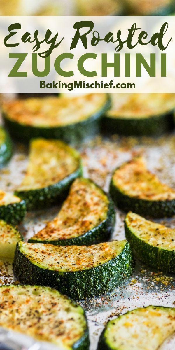 Photo of Easy Roasted Zucchini