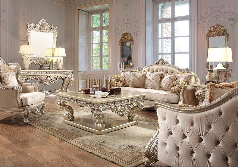 Dream Home On Instagram Luxury Available In Store Now Follow Us For Up Date Cal Fancy Living Rooms Formal Living Room Sets Formal Living Rooms