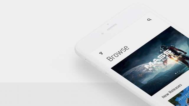 Playstation Minimalist App Design Concept Web app design