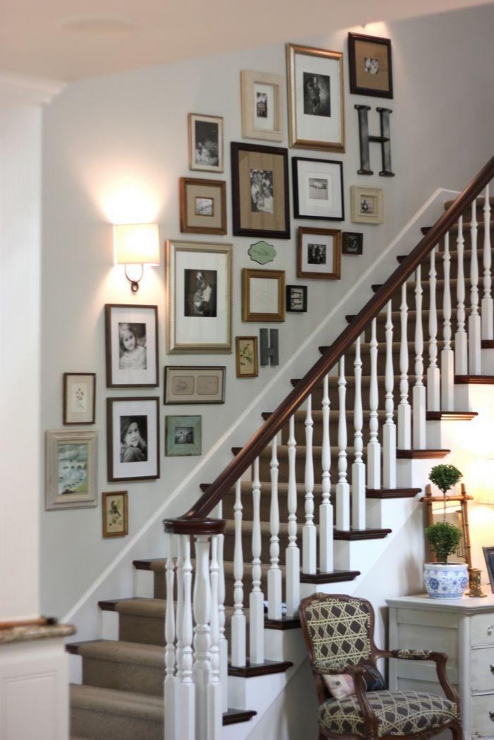 1001 Ideen fr Treppenhaus dekorieren zum Entnehmen  malerei  Treppenhaus dekorieren Treppe