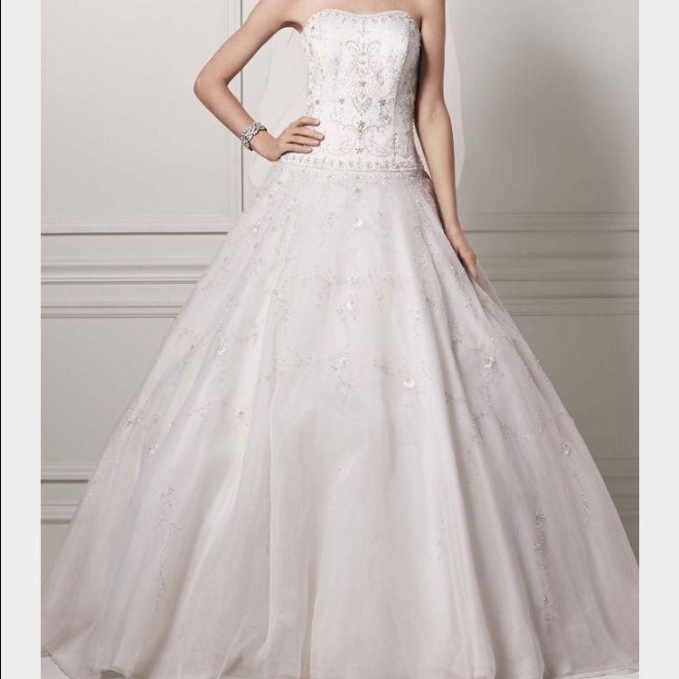 Final Price!Oleg Cassini Wedding Gown | Oleg cassini wedding gowns ...