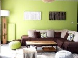 decoration maison vert anis