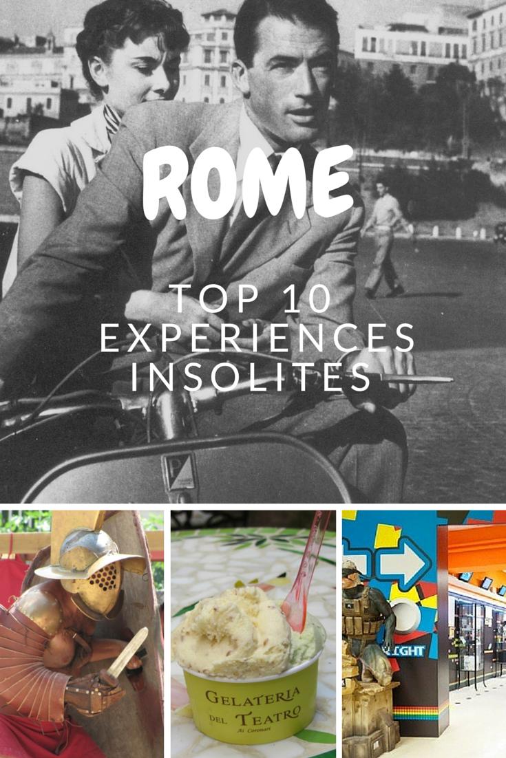 top 10 des exp riences insolites faire rome. Black Bedroom Furniture Sets. Home Design Ideas