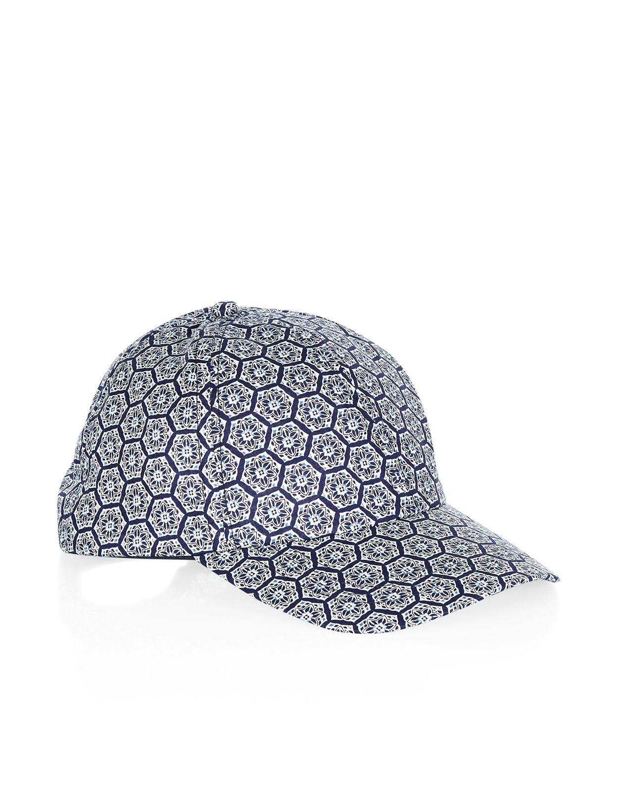 Casablanca Tile Print Baseball Cap