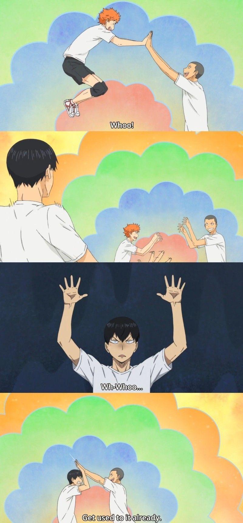 Kageyama you adorable little idiot i cant haikyuu funny haikyuu 3 anime one