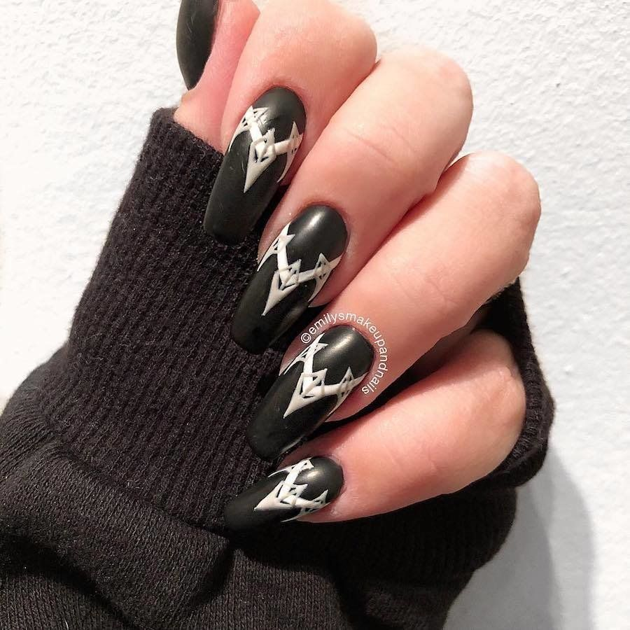 http://www.revelist.com/nails/black-panther- - The Manicures Are Unapologetically Extra. Pinterest Nail Nail
