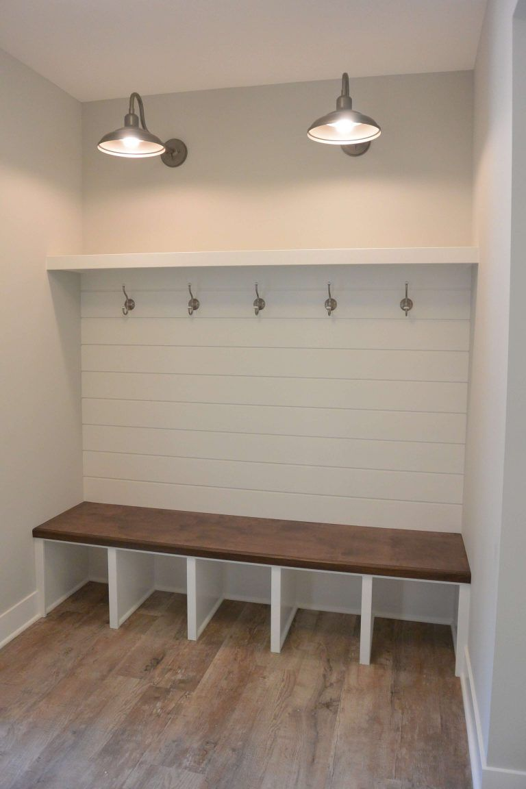 at deep mudroom old are re pin side baseboards purposed beautiful cubbies back closet base inches and of were shiplap bench the with dual which
