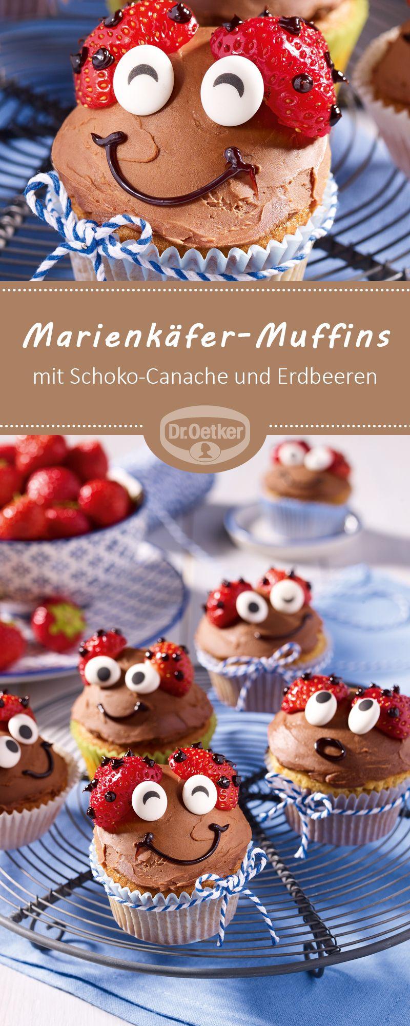 Marienkäfer-Muffins #quickcookies
