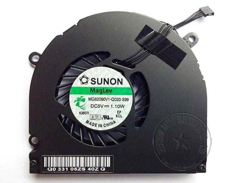 50pcs Lot Cooling Fan For Apple Macbook Pro 15 B470 A1286 Mb985