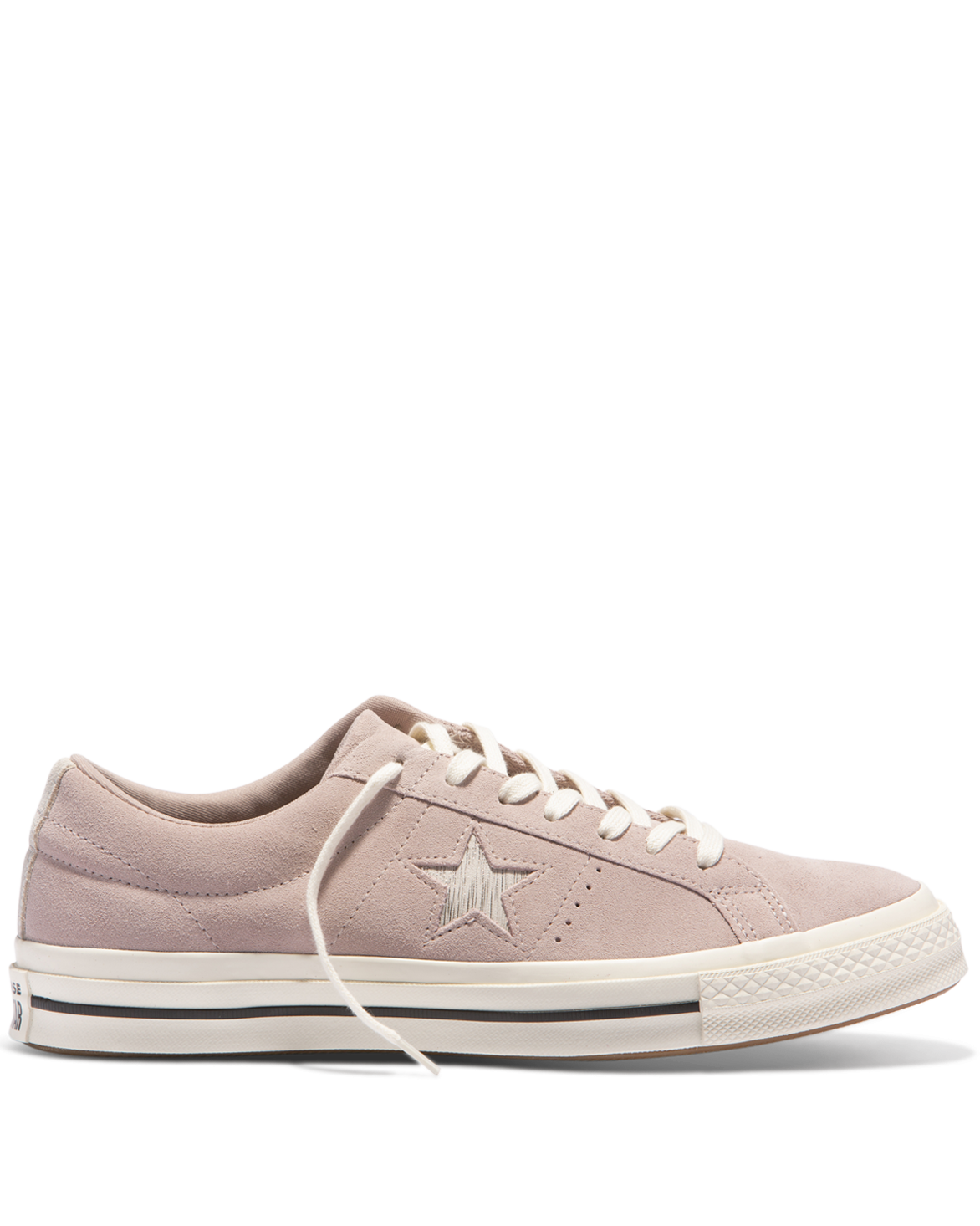 b26495d8a9d Converse One Star Metallic Logo Low Top - Diffused Taupe is a suede sneaker  with metallic star detailing.  soulclothingwanaka  shoponline  soulstyle ...