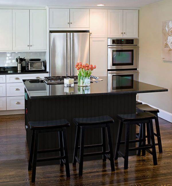 Preferred Models of Captivating Modern Black Kitchen Cabinets