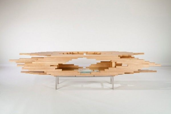 The Explosion Cabinet par Sebastian Errazuriz