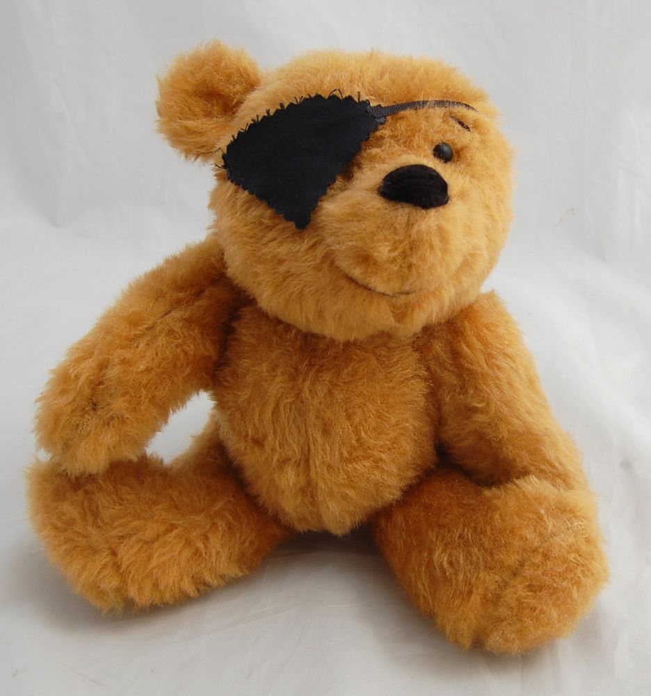 """OOAK Pirate Teddy Bear Little Toby 11"""" Artist Linda Spiegel Bearly There 1 of 1 #BearlyThere #AllOccasionChristmasEasterBirthdayCelebration"""