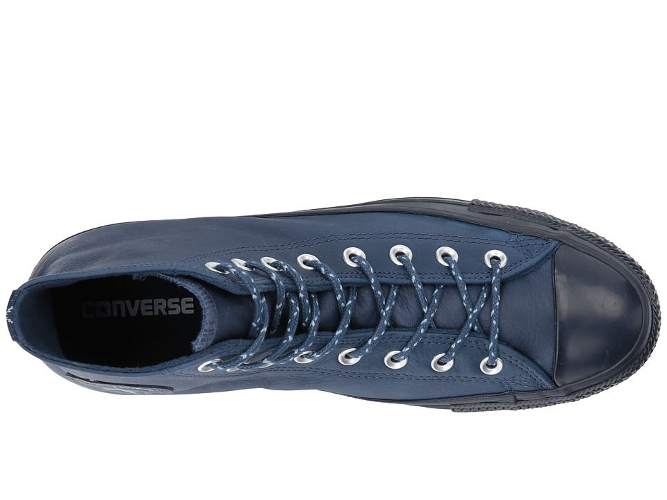 513e8ab24db9 Converse Chuck Taylor(r) All Star(r) Leather w  Thermal Hi Classic Shoes Midnight  Navy Blue Slate Inked