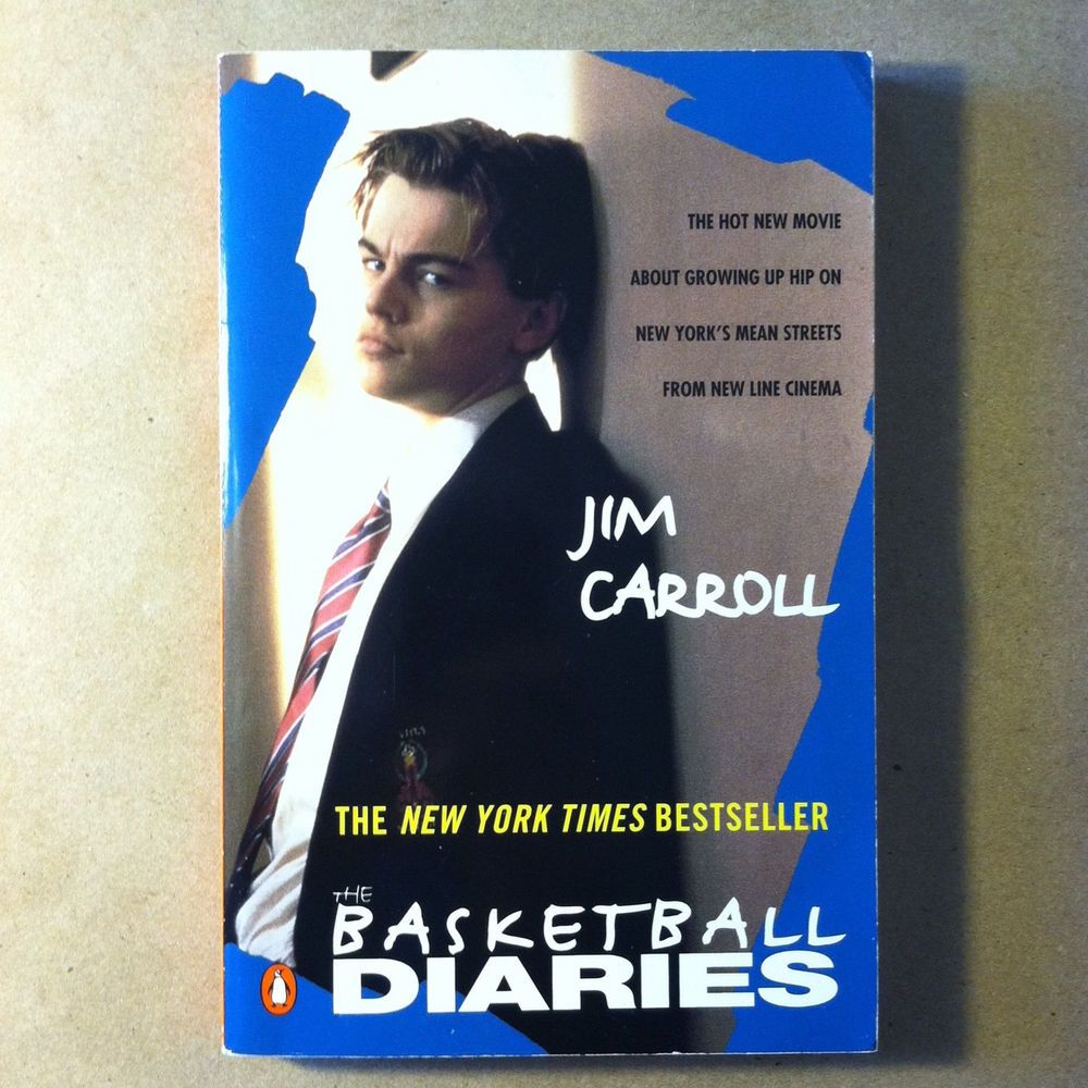 The Basketball Diaries by Jim Carroll (Signed, Movie Tie-In Edition)
