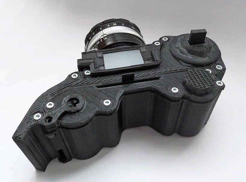 Openreflex Open Source 3d Printed Analog Camera 3d Printer 3d