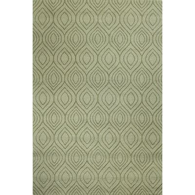 Found it at Wayfair - Orion Hand-Loomed Light Green Area Rug