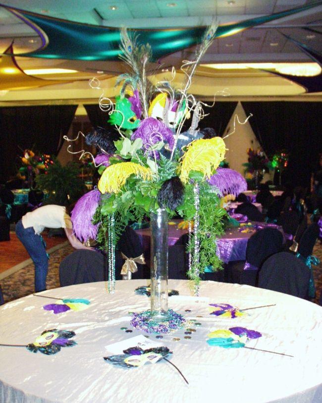 Mardi Gras Themed Wedding Mardi Gras Wedding Pinterest Mardi