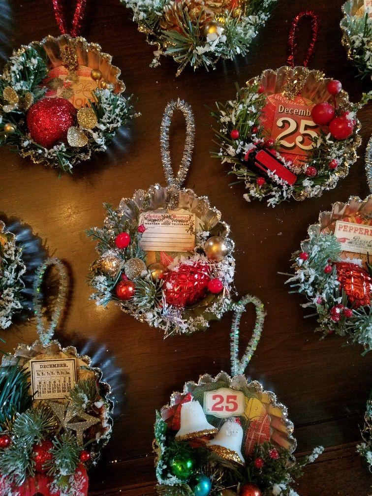 Vintage Tart Tin Christmas Ornament Take A Tart Tin Vintage Gift