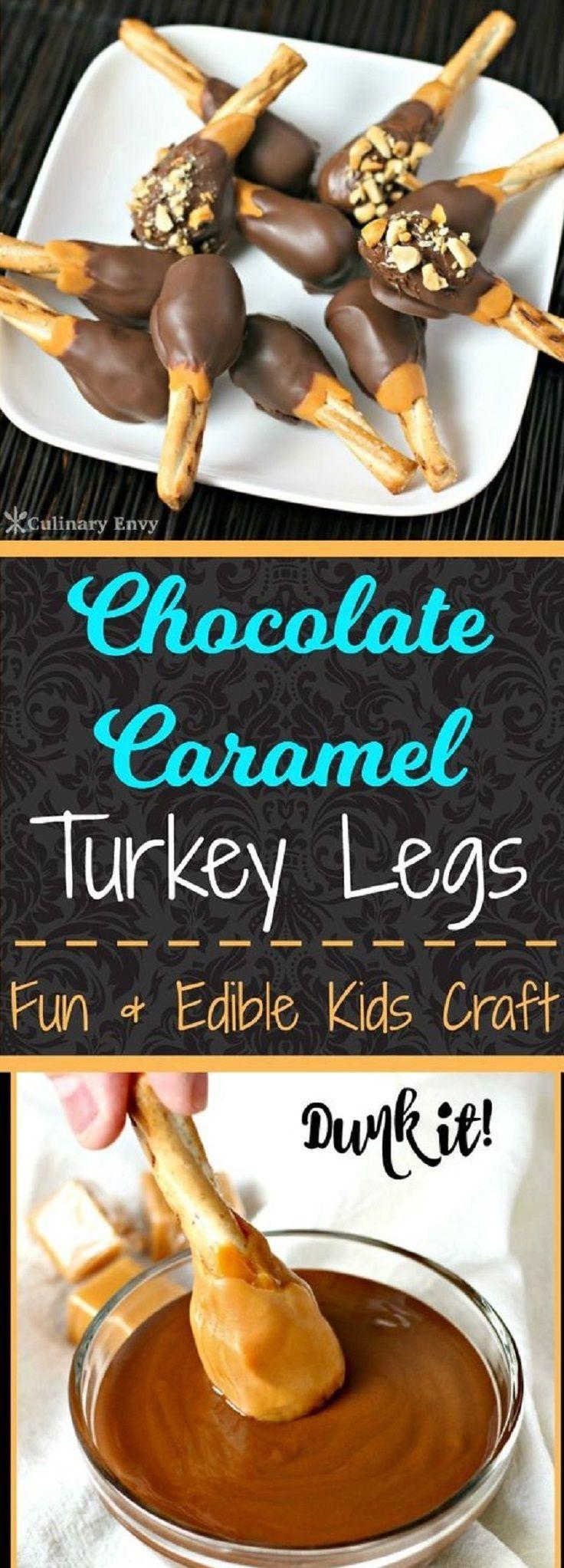 Chocolate Caramel Turkey Legs 12 Enchanting Fall