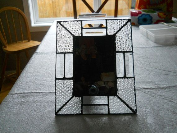 Items similar to Stained glass picture frame on Etsy