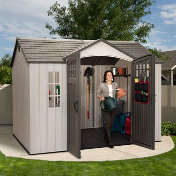Costco: Lifetime® – Remise de jardin de 10 pi x 8 pi | Outdoor ...