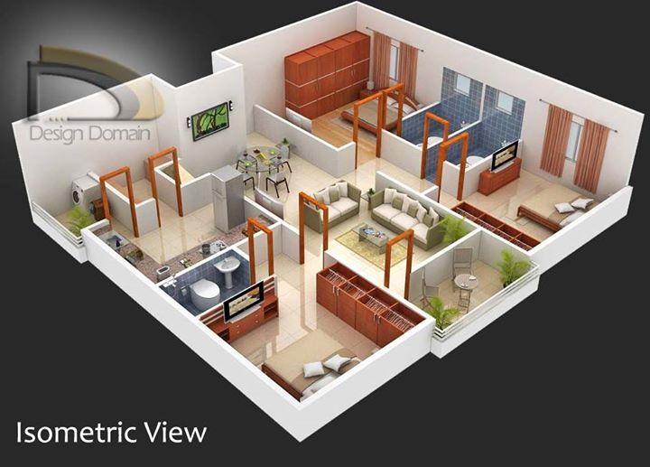 Apartment Floor 99 Walkthrough Home Plan