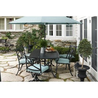 Smith & Hawken® Edinborough Metal Patio Furniture Collection - Smith & Hawken® Edinborough Metal Patio Furniture Collection