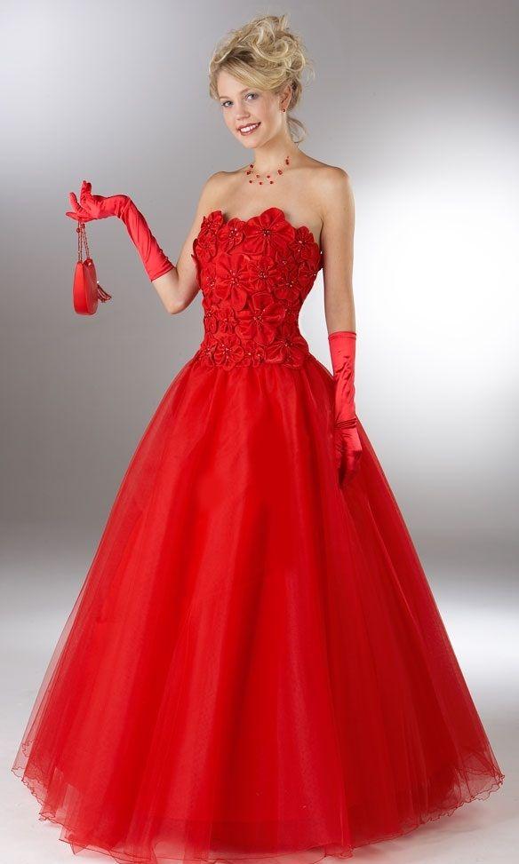 Red christmas dress | Christmas dress women, Girls party ...