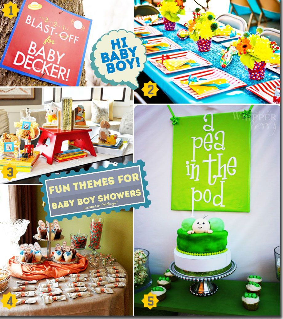 Fun And Interactive Baby Shower Themes For Boys Baby Shower Themes