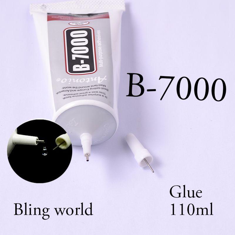 110 ml Strass Colla B7000 Resina Epossidica Super Colla Sigillante Per Unghie Decorazioni Borse Scarpe E Vestiti